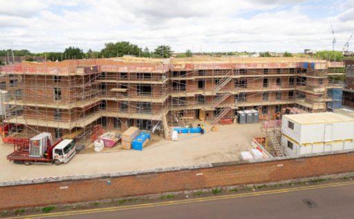 Halsey House development is making great progress