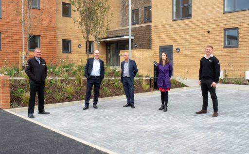 Completion of the Croft, 33 affordable rent apartments in Burnt Oak for Opendoor Homes