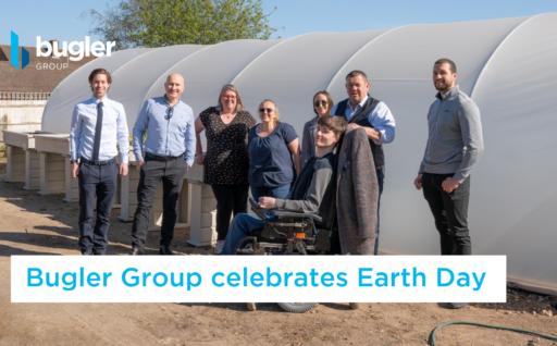 Earth Day 2021: Bugler Group visits Random Cafe