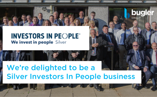 Bugler Group is a Silver Investors In People Business