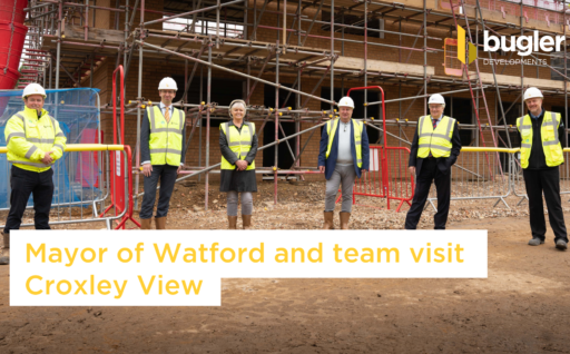 Mayor of Watford and team visit Croxley View
