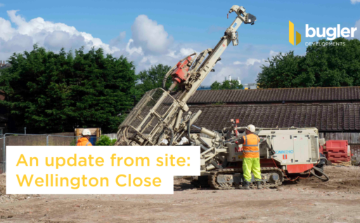 An update from site: Wellington Close