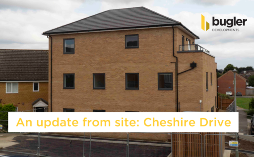 An update from site: Cheshire Drive